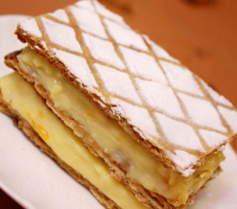 Chocolate mille feuilles