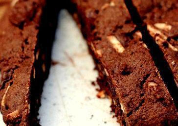 Dark Chocolate Almond Biscotti and Affogato