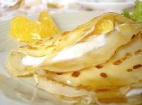 Honey crepes