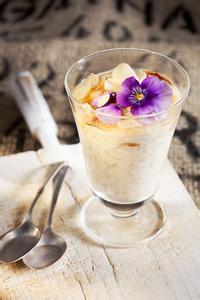 Cinnamon Pear Frozen Yogurt