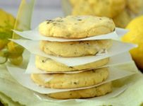 Lemon thyme biscuits