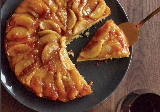 Peach Up-Side Down Cake