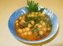 Spanish Chickpea Stewed soup
