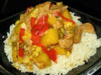 Stir-Fry Fajita Chicken, Squash, and Corn