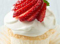 Strawberry Jelly Donut Cupcakes