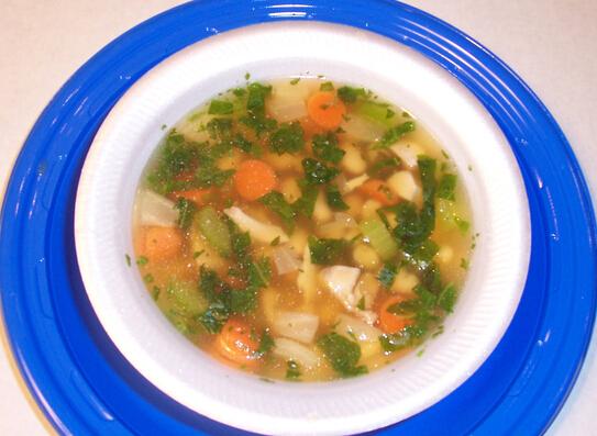 Tuscan Smoked Turkey & Bean Soup