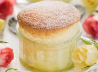 French vanilla souffle