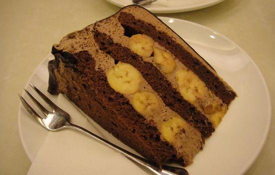 Banana Cake with Cinnamon and Chocolate