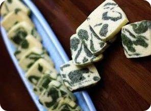 Matcha Marble Crackers