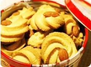 Xylitol Butter Cookies