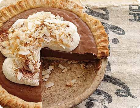 Chocolate Coconut Cream Pie