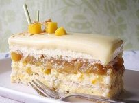 Chocolate Mango and Coconut Entremets Cake
