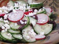 Daikon Radish and Watercress Salad