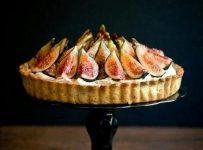 Ginger Fig Streusel Tarts