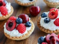 Goat Cheese And Berries Tarts