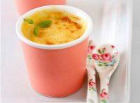 Lemon Chamomile Pots de Creme