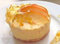 Peach Chamomile Mousse Cakes