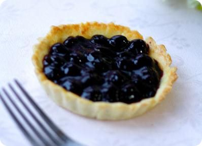 Simple and Easy Blueberry Pie