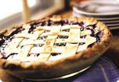 Sweet Blueberry Pie