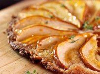 Thin Crust Pear Tart