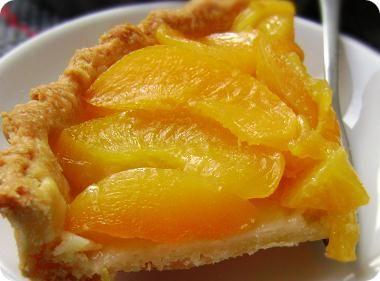 Yellow Peach Pie