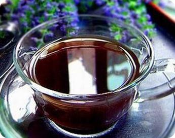 Honey ginger red tea