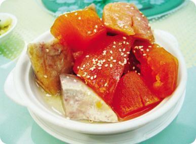 Honeydew sweet potato
