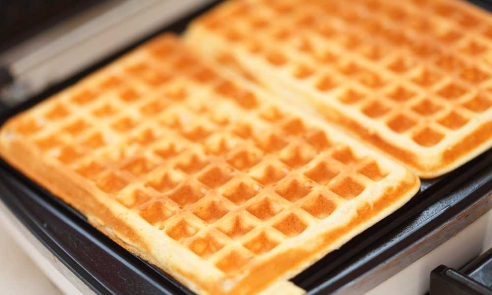 grease your waffle iron