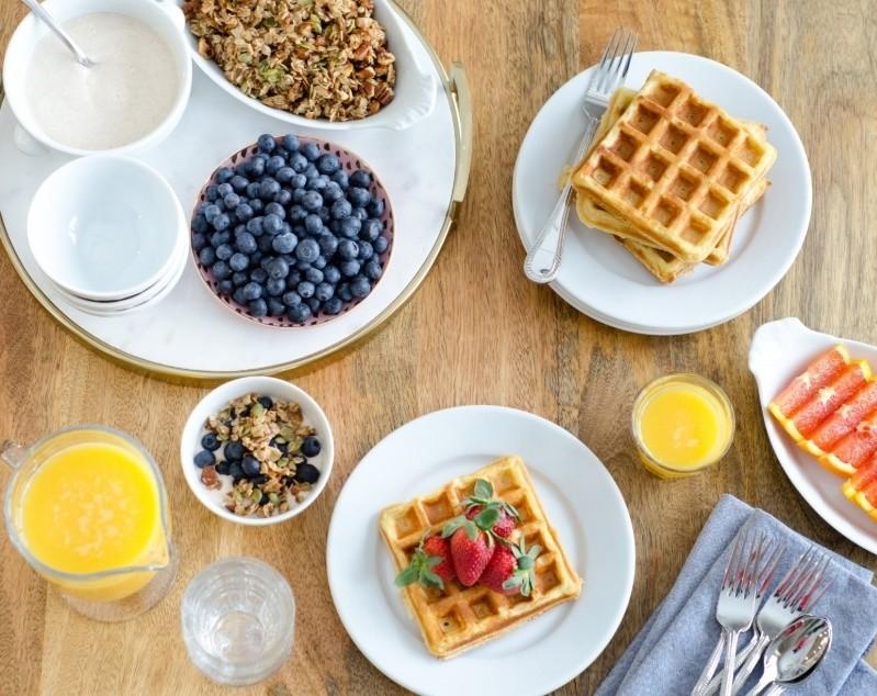 Make Waffles with Pancake Mix