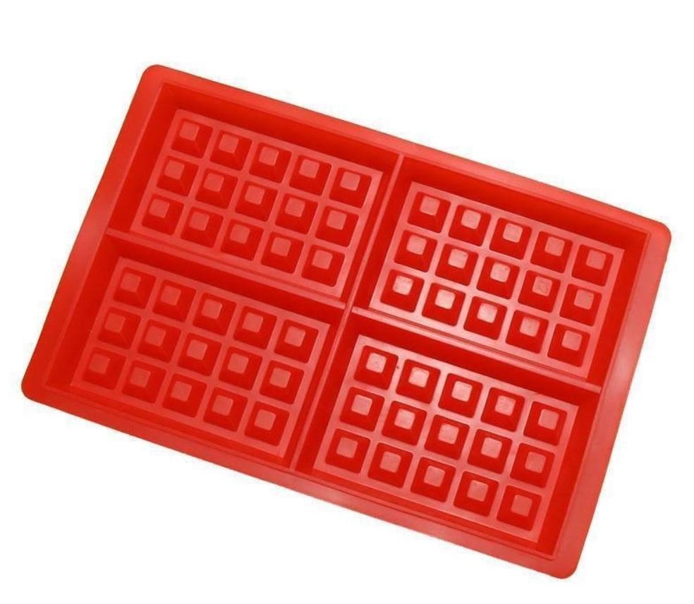 Make Waffle with Waffle Mold