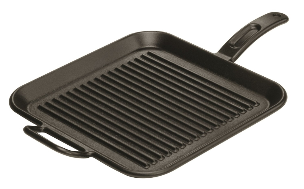 Making Waffles with Grill Pan